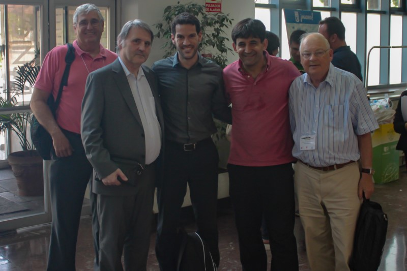 David Pascoe, Kurt Ammer, Ismael Fernández Cuevas, Manuel Sillero Quintana and Francis Ring